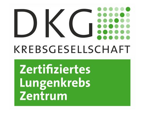 Zertifiziertes Lungenkrebszentrum DKG