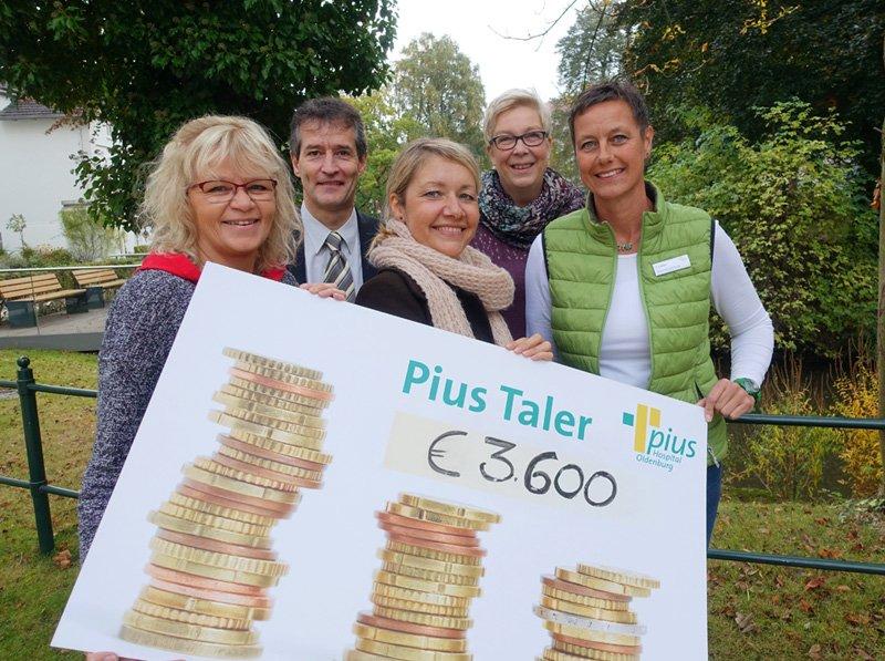 Wildwasser Oldenburg e.V. erhält Pius Taler