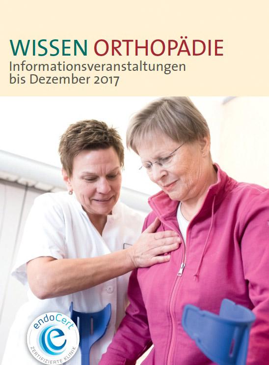Wissen Orthopädie - Neues Veranstaltungsformat am Pius-Hospital