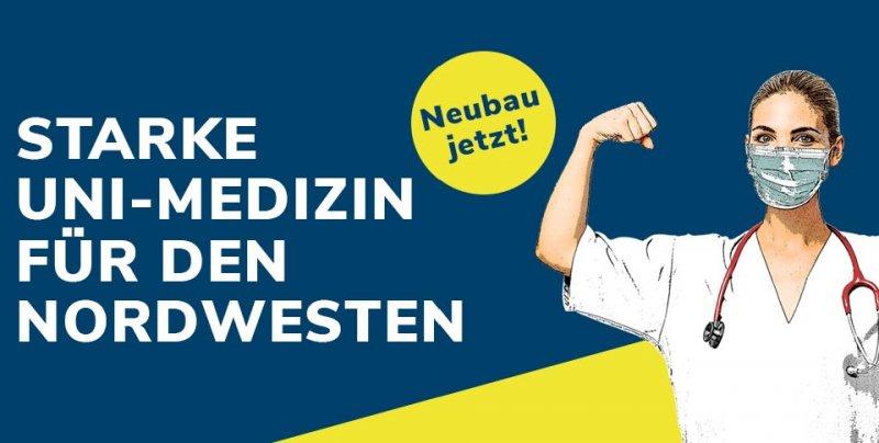 Landespolitik sagt der Universitätsmedizin Oldenburg 80 Millionen Euro zu