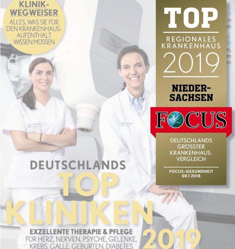 Das Pius zählt zu den Top Krankenhäusern in Niedersachsen