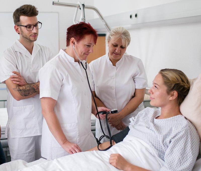 Verkürzte Ausbildung in der Pflege
