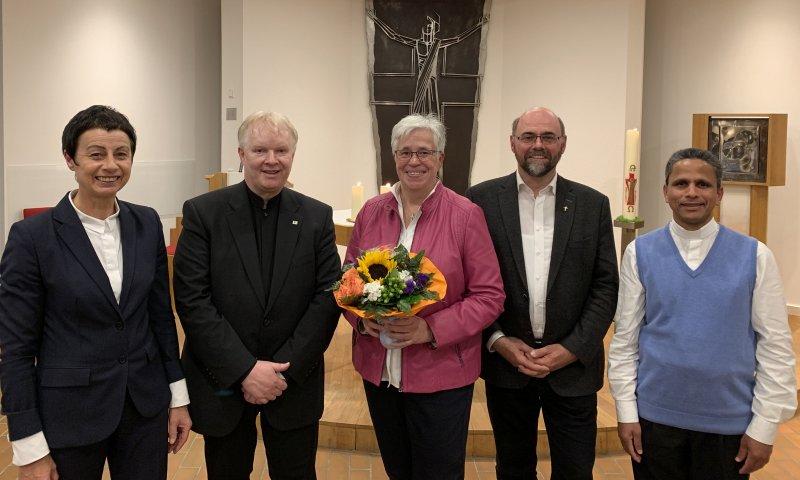 Dr. Gunda Holtmann als neue Pius-Seelsorgerin offiziell im Amt begrüßt