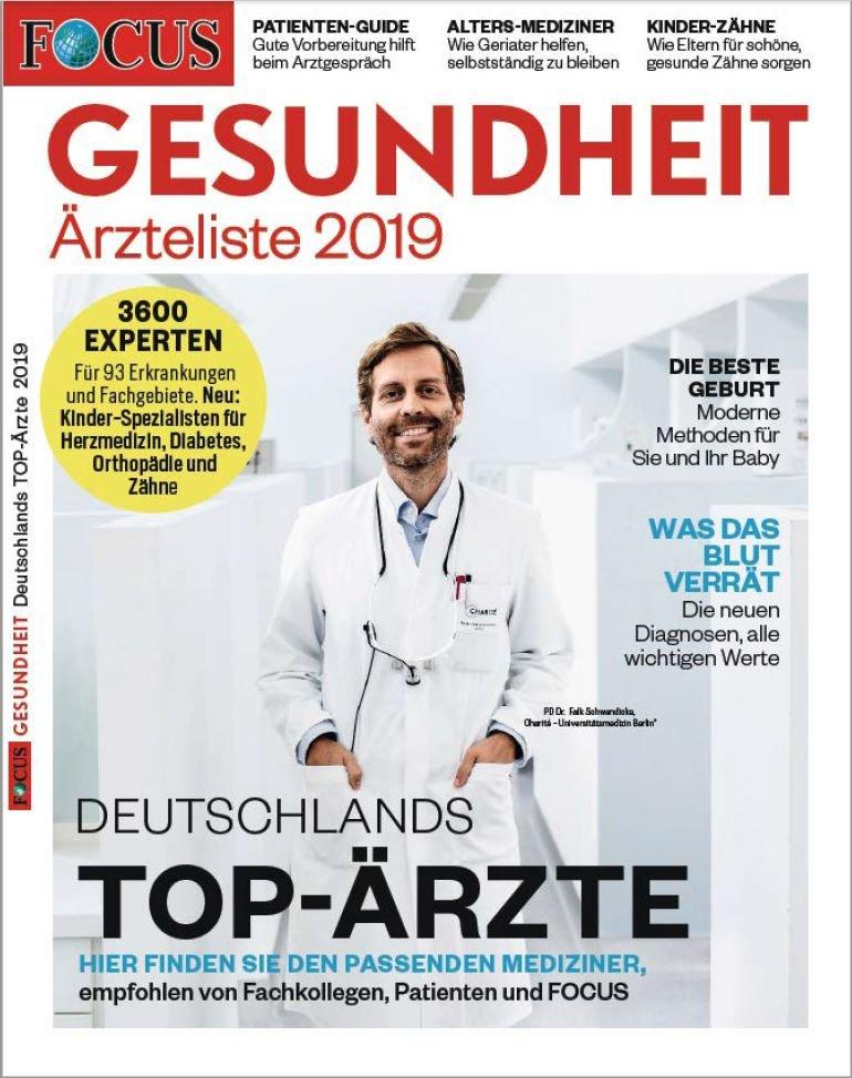 Focus-Ärzteliste 2019: Vier Experten aus dem Pius-Hospital