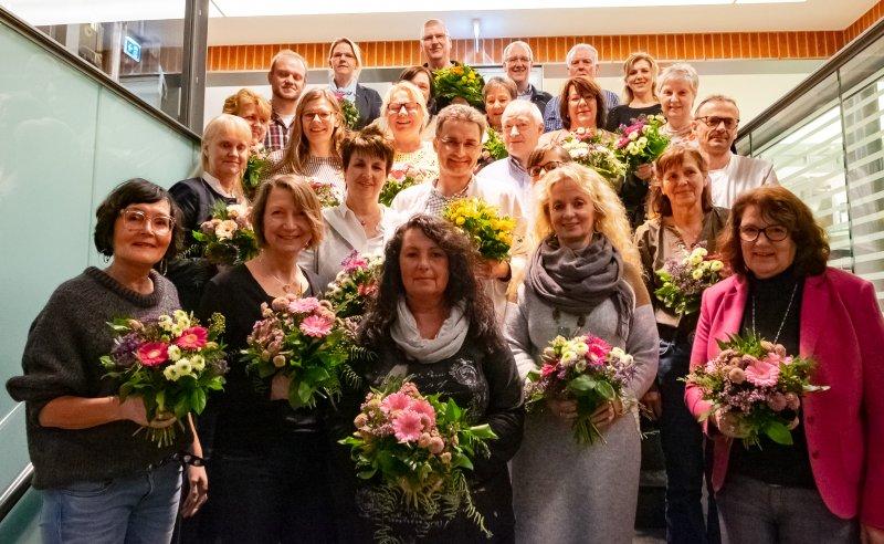 Anerkennung für langjähriges Engagement im Pius-Hospital