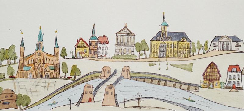 Bilder zum Thema Oldenburg im Pius-Foyer