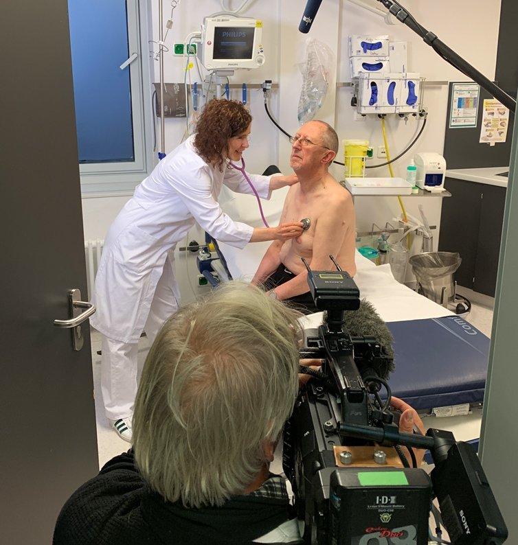 VISITE vor Ort – Gesundheitsmagazin des NDR drehte wieder im Pius-Hospital