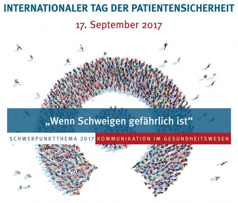 Internationaler Tag der Patientensicherheit am 17. September 2017