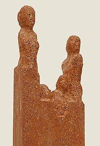Bronzeplastiken und Steinskulpturen des Bildhauers Hans-J. Müller