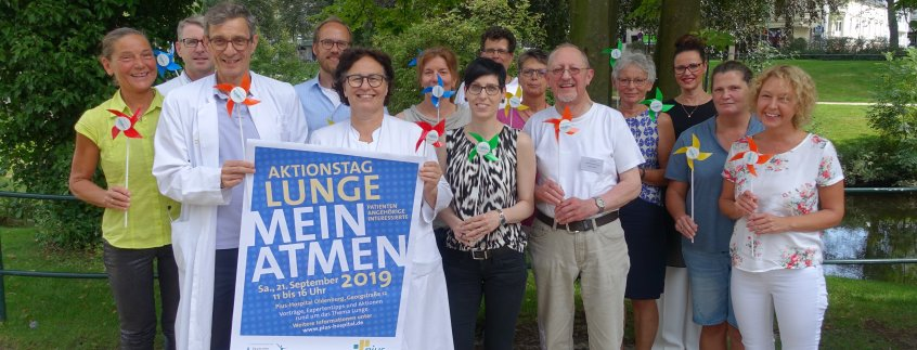 Aktionstag Lunge am 21.9.2019 im Pius