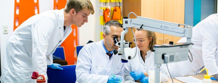Lehre Chirurgiekurs Augenheilkunde