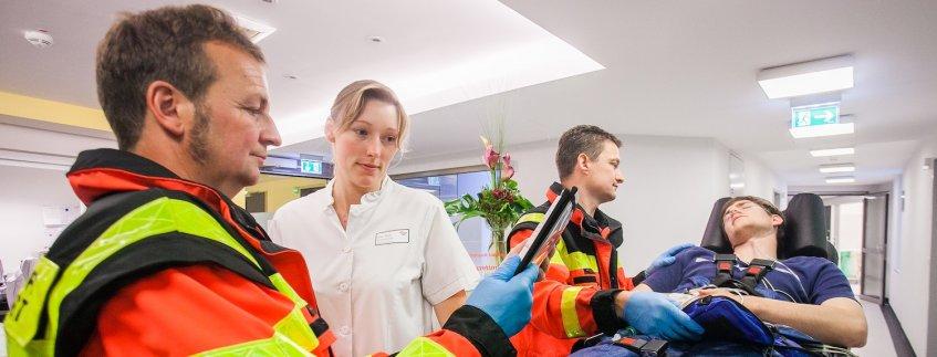 Notfall in der Notaufnahme im Pius-Hospital Oldenburg