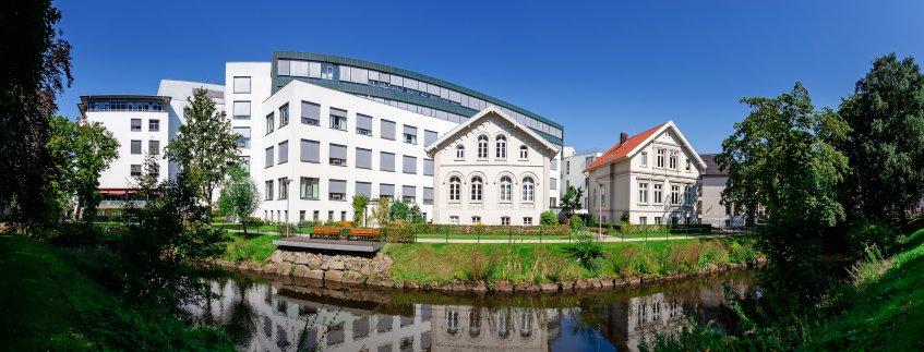 Das Pius-Hospital in Oldenburg