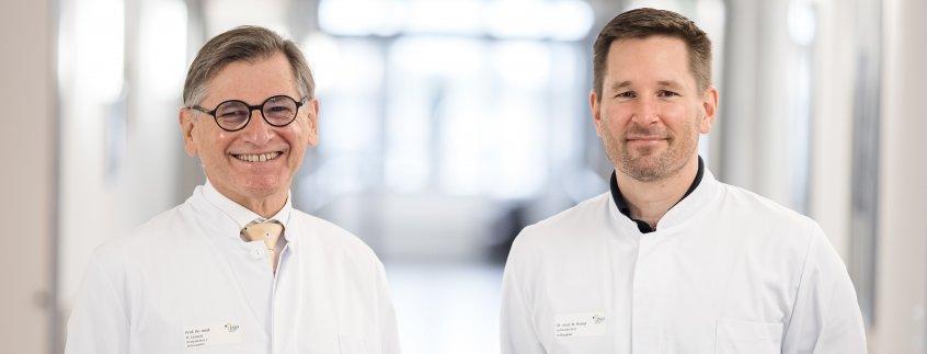 Prof. Lazovic und Dr. Brand