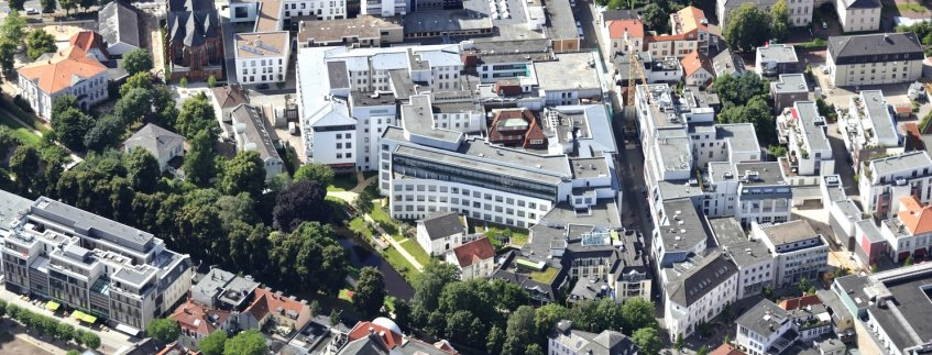 Luftaufnahme Pius-Hospital Oldenburg