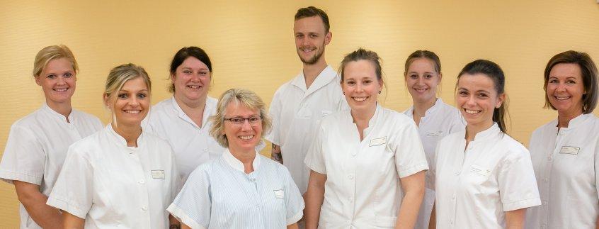 Pflegeteam im Pius-Hospital