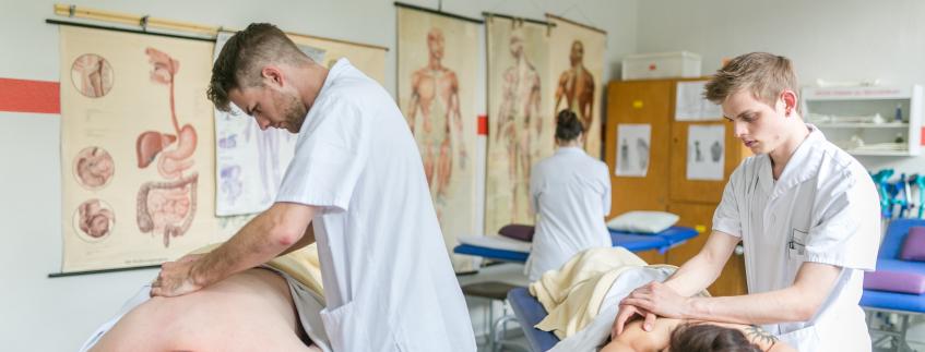 Ausbildung Masseur/in und medizinische Bademeister/in