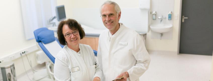 Prof. Dr. Dr. De Wilde und Frau Dr. Böhne