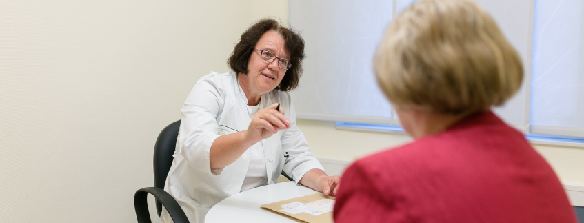 Patientengespräch Gynäkologie