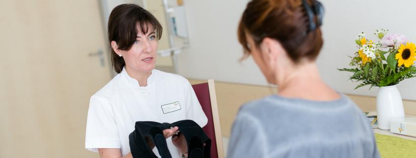 Patientengespräch Pflege Gynäkologie