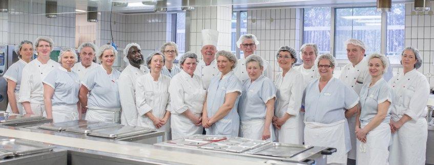 Das Küchenteam im Pius-Hospital Oldenburg