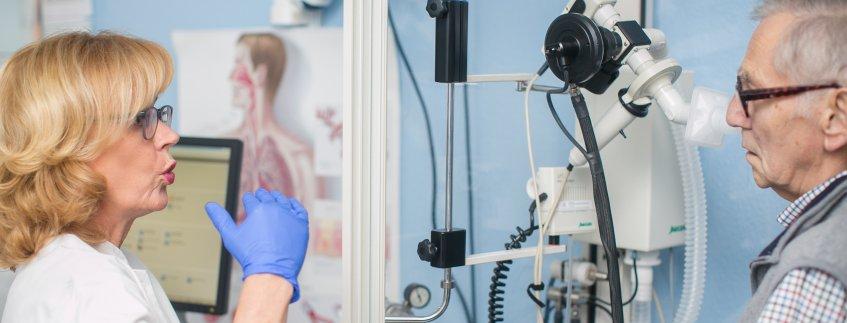 Lungenfunktion Klinik für Innere Medizin, Pneumologie und Gastroenterologie