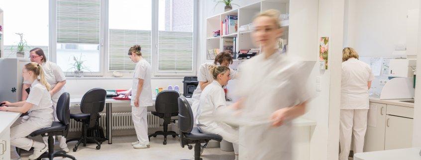 Die Pflege – ein wichtiger Baustein im Pius-Hospital