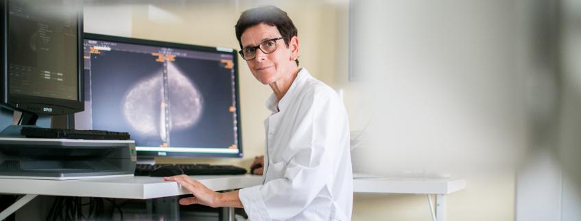 Mammographie im Institut für Diagnostische und Interventionelle RadiologieMRT