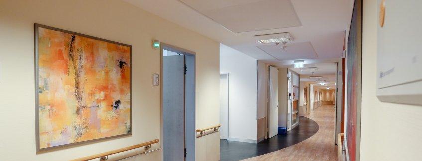 Der neue C-Flügel im Pius-Hospital