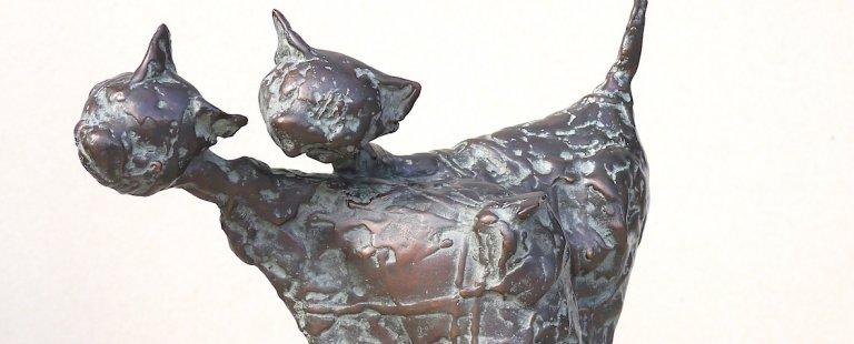 Kraft und Ausstrahlung – Arbeiten von Bildhauer Wolfgang Binding im Pius-Hospital