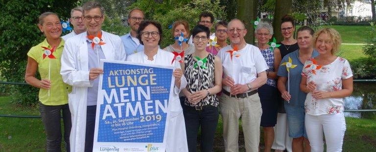 Aktionstag Lunge im Pius-Hospital Oldenburg
